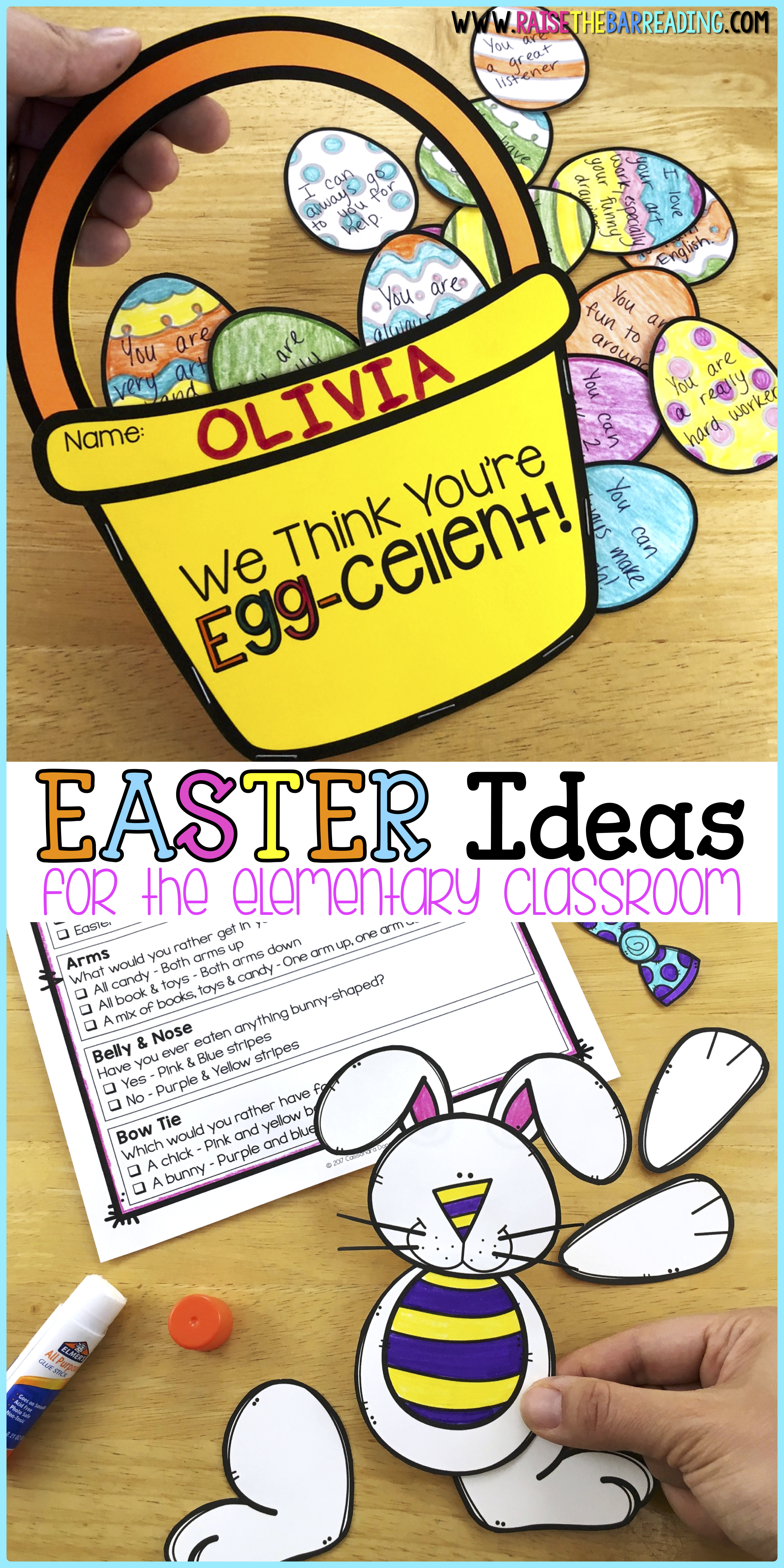 Low Prep Non Religious Easter Activities For Elementary Students