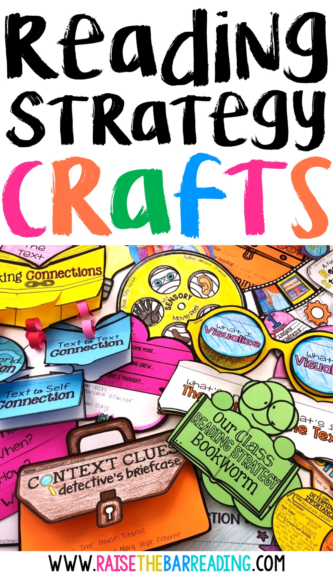 - Reading Comprehension Strategies Crafts: Hands On Activities For