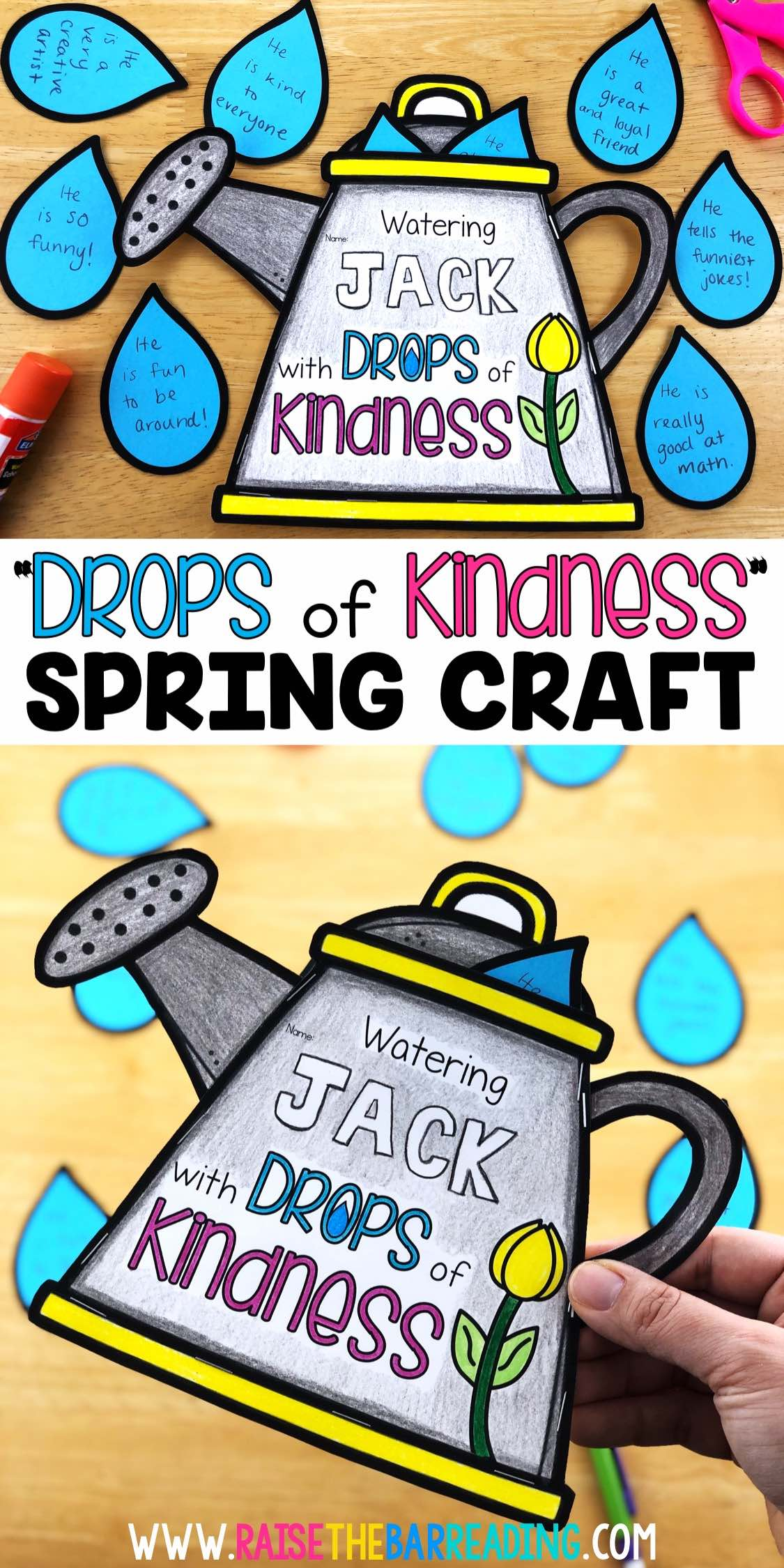 spring kindness activity for elementary students